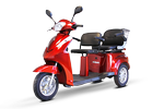 All New EW 66 3 Wheel 2 Passenger Mobility Scooter